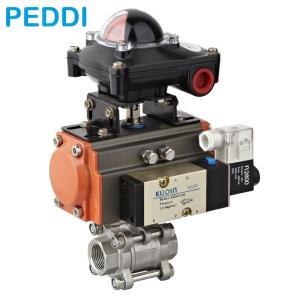 Wholesale valve ball: Pneumatic Control Ball Valve