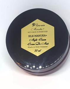 Wholesale bay leaf oil: Night Cream Silk Manuka+