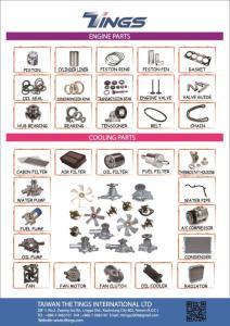 Wholesale auto part: Auto Spare Parts: (1) Brake Parts (2) Suspension Parts (3) Engine Parts (4) Cooling Parts