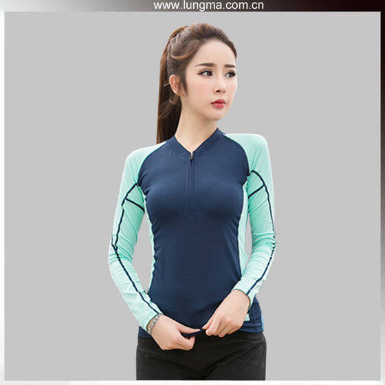 Sportswear: Sell Long Short Sleeve Wholesale Blank Custom Compression Shirts