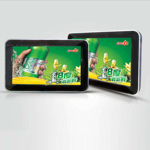 Offer 7 inch taxi headrest advertising screen