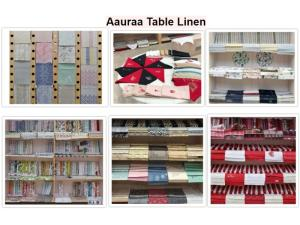 Wholesale fair trade: Aauraa Table Throws - Nakins Linen Collections