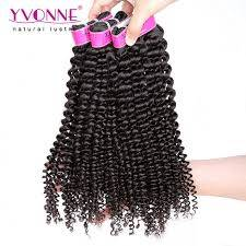 Sell Yvonne Brazilian Kinky Curly Virgin Hair,3Pcs/lot Brazilian Hair Weave