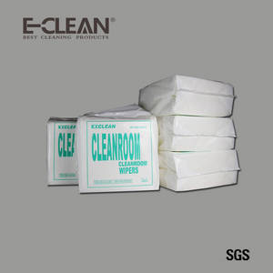 Wholesale 45%: 9X9 55% Woodpulp 45% Polyester Optical Lens Cleanroom Wipe Paper
