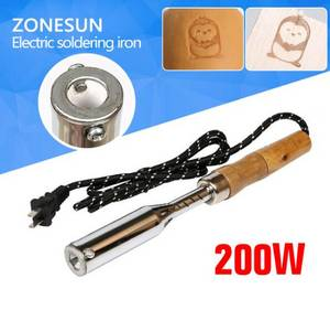 Wholesale hot stamping printing: ZONESUN 150W Electric Soldering Iron Hot Embossing Stamping Leather Printing LOGO Stamping Machine L
