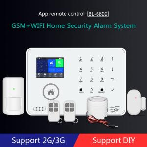 Wholesale gsm home alarm: Hot Sale Smart Product Alarm System  Wireless Wifi for Guard Against Theft  for Home