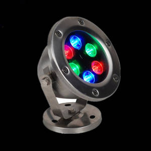 Wholesale water fountain lights: AC12V AC24V RGB LED Underwater Light IP68