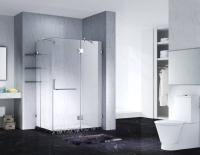 Sell Slimline Frameless Rectangle Shower Enclosure With Pivot Door
