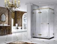 Semi Frameless Rectangle Shower Enclosure with Pivot Door, AB...