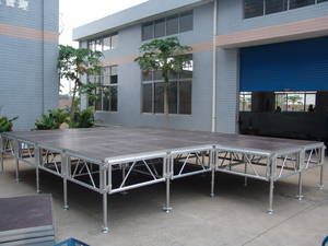 Wholesale Truss Display: Protable Stage Easy Move Stage Mobile Aluminum Stage Tower