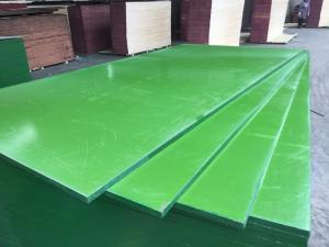 Wholesale mixed hardwood: China ACEALL 4'X8' Construction Shuttering Green PP PVC Plastic Film Coated Plywood Board Lumber