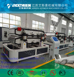 Wholesale Plastic Building Materials: PVC Glazed Tile Making Machine