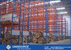 Wholesale Winches: Blue / Orange Pallet Storage Racks Metal Conventional Pallet Storage Shelves