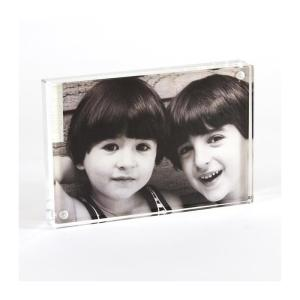 Wholesale picture frame: Well Selling Wholesale Magnetic Acrylic Block Picture Frames for Display