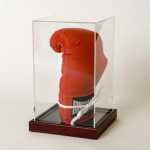 Wholesale glove box: 2018 New Arrive Clear Acrylic Box Display for Boxing Glove