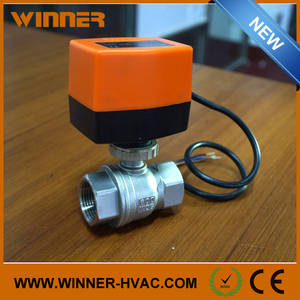 Wholesale steel ball: Electric Stainless Steel CF8 600WOG Motorised Ball Valve