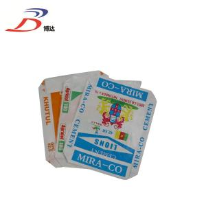 Wholesale block bottom valve bag: 50KG Ad Star Bags PP Woven Cement Bags with Valve Port