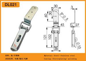 Wholesale wooden case: Wooden Case Toggle Latch