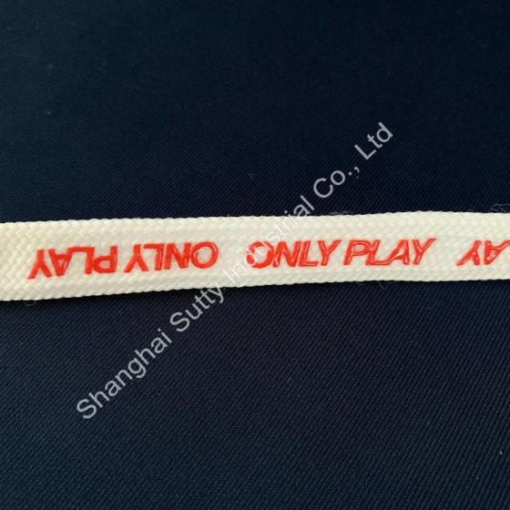 Top Quality Silicone Rubber LOGO Printed Band for Garment