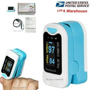 Wholesale tip: Finger Tip Pulse Oximeter Blood Oxygen Meter SPO2 Heart Rate Monitor Saturation