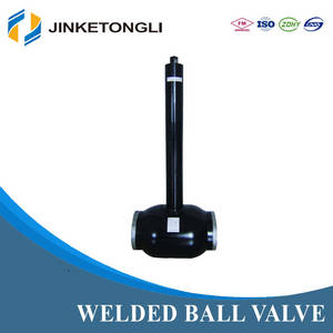 Wholesale valve rod: JKTL High Pressure Fully Welded Ball Valve with Extension Rod
