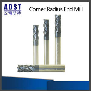 Wholesale cnc milling machine: 4flute Tungsten Steel Ball Nose End Mill for CNC Machine