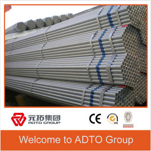 Wholesale steel tube: HDG Hot Dipped Galvanized Welding Scaffolding Steel Pipe for Tubular Scaffolding Tube System