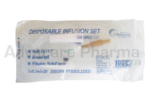 Sell Infusion Set- single wing 21g/23g, butterfly wing 21g/23g