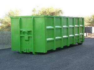 Wholesale waste container: Hooklift and backloader waste containers