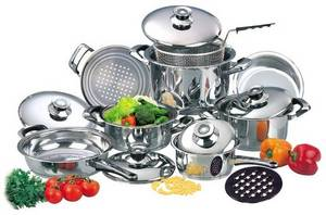 Wholesale stainless steel cookware: Stainless Steel Cookwares