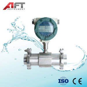 Wholesale Flow Measuring Instruments: 4-20mA Clamp and Threaded Connection Turbine Flow Meter