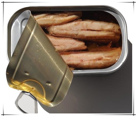 Canned Sardine in Brine,In Tomato Sauce, Oil, Chilli(Canned Fish)