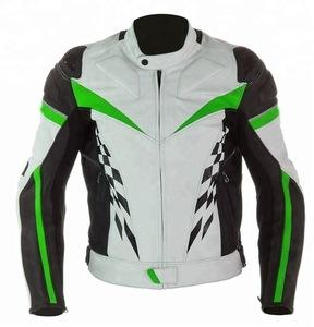 Wholesale motorbike jacket: Leather Motorbike Jacket