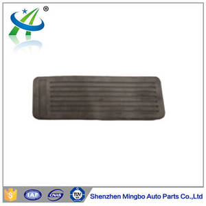 Wholesale forklift spare parts: OEM Cheap and Hot Auto Spare Parts Rubber Brake Pedal Pad for Forklift 91851-00800