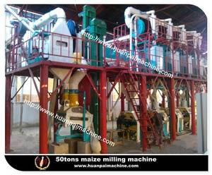 Wholesale corn flour: 60tpd Corn Grinder,Corn Milling Equipment,Corn Flour Mill