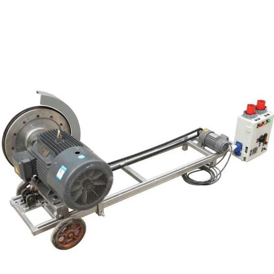 Electric Wall Saw Machine with Blade for Concrete Stone Mining Road Bridge Etc
