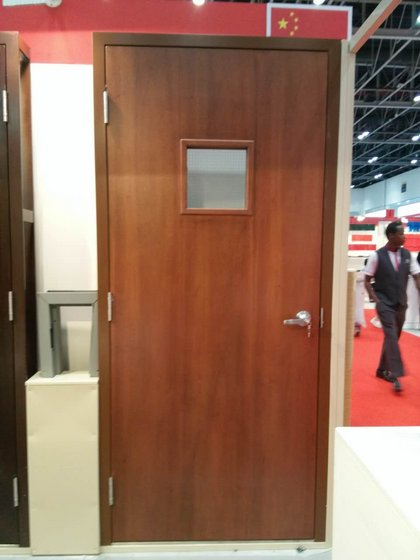 Hollow Metal Doors And Frames With Fire Resistance For Commercial Residential Construction Image