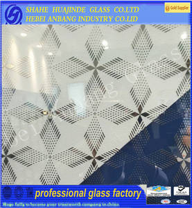 Wholesale patterned glass: Frosted Acid Glass,Decorative Pattern Glass