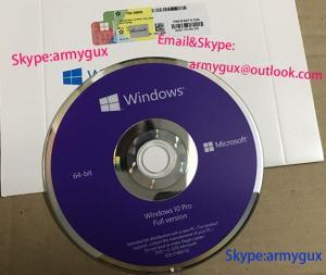 Wholesale sticker: New Win 10 Pro Coa Sticker DVD  Full Package  Online Key
