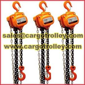 Wholesale manual chain hoist: Chain Hoists Details and Manual Instruction