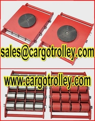 Sell Transport dollies application and instruction