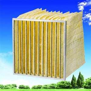 Wholesale synthetic fiber: SAF Glass Fiber / Synthetic Pocket Air Filter