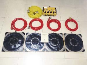 Wholesale heavy equipment: Air Casters Is Used for Transporting Heavy Equipment