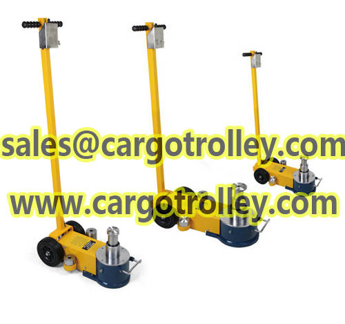 Cranes: Sell Air trolley jack with high quality