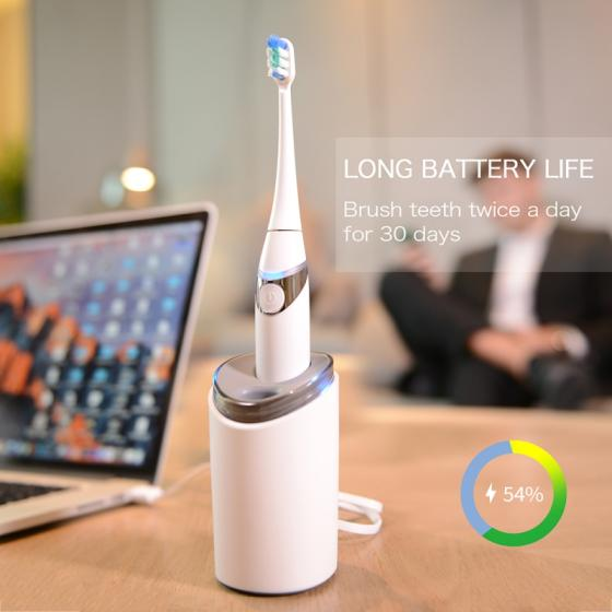 Sell Aiwejay Sonic Electric Toothbrush Kit with UV Irradiation Dryer Rinse Cup P