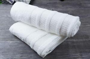 Wholesale detailing towels: High Cotton Custom Star Hotel Supplies High Quality Pure White Cotton Towel