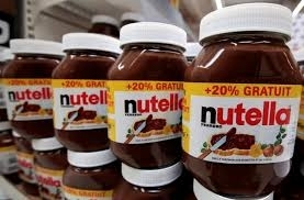 Wholesale nutella: Sell Ferrero Nutella 350g, 400g, 750g,  1KG with English / Arabic / French
