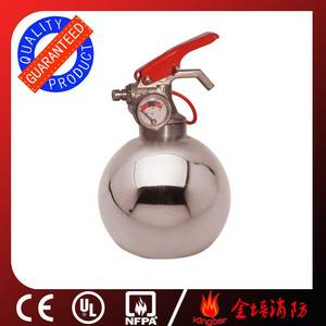 Wholesale steel powder: 0.3KG Portable Stainless Steel Dry Powder Fire Extinguisher for Kitchen Using with ISO Approval