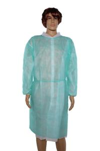 Wholesale non woven coverall: Blue High Breathable Jumpsuit / Coverall Made by PP / Disposable Non Woven Isolation Gown
