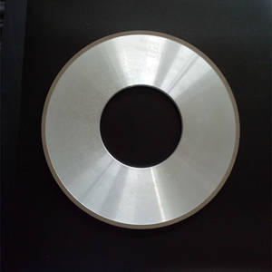 Wholesale diamond grinding tools: Vitrified Bond Diamond Wheel Flat-Shaped for Grinding PCD Tools
